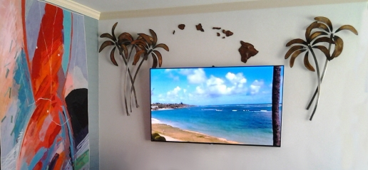 Koa Island Chain Wall Art