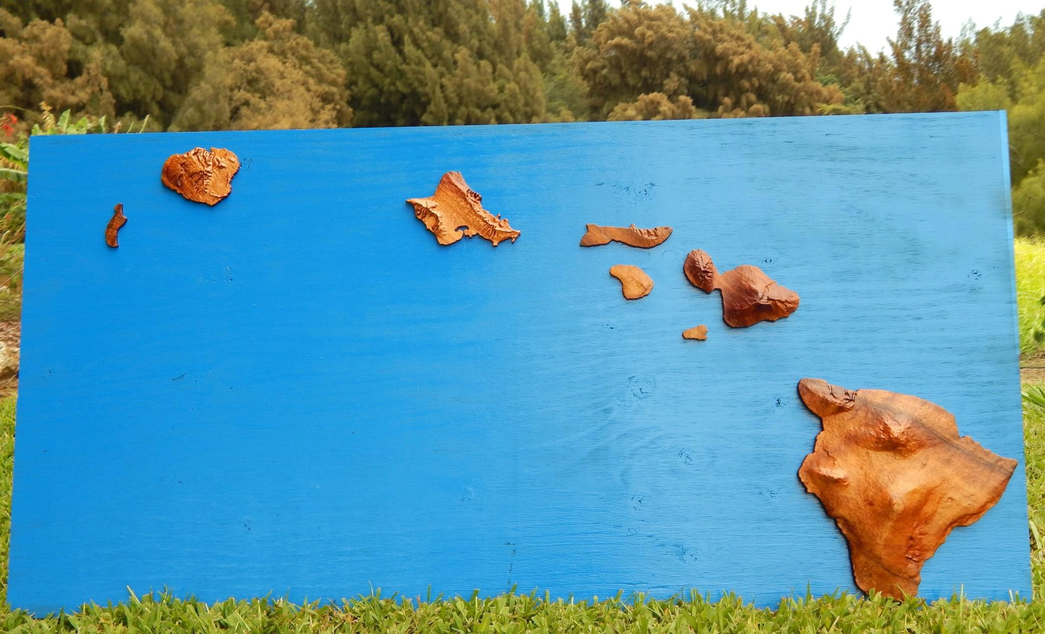 Hawaii Island Artwork